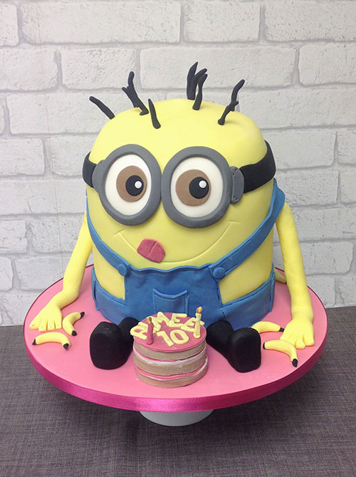 Minions Birthday Cake Bakery