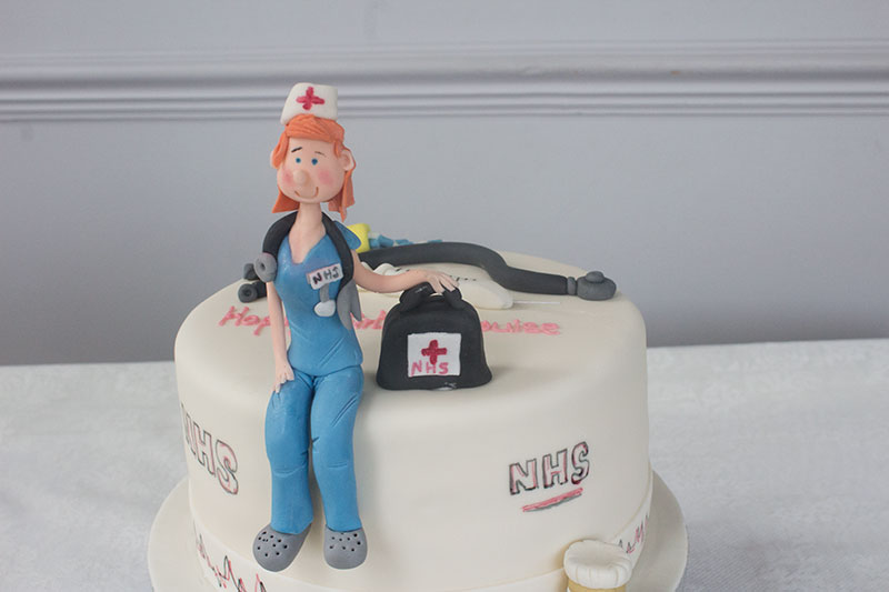 Novelty Nurse Birthday Cake