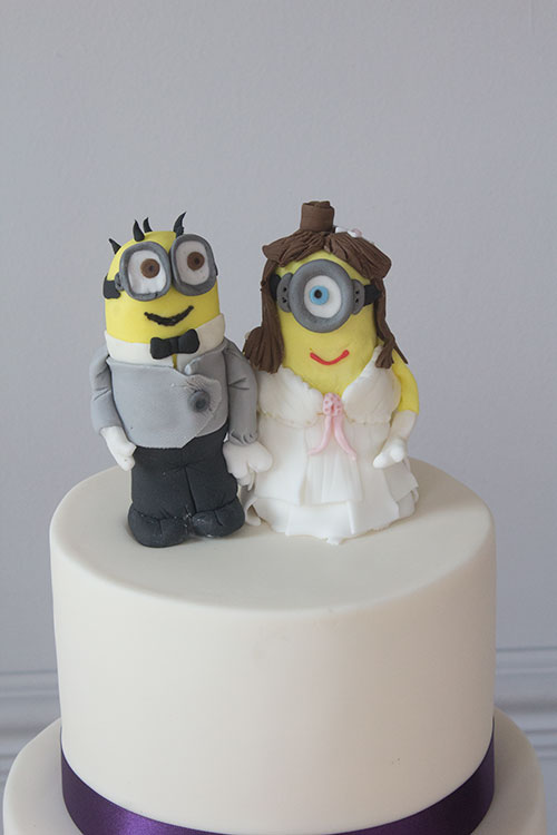 personalised wedding cake toppers northern ireland and groom minion cake topper bakery 18253