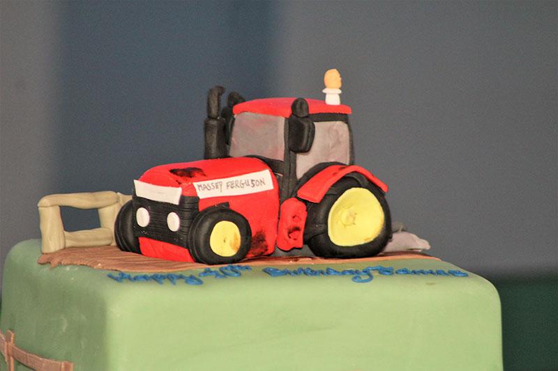 Birthday Tractor Cake
