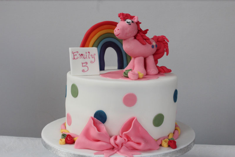 My Little Pony Pinkie Pie Birthday Cake