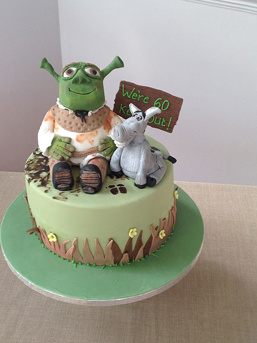 Shrek Donkey Birthday Cake Jpg