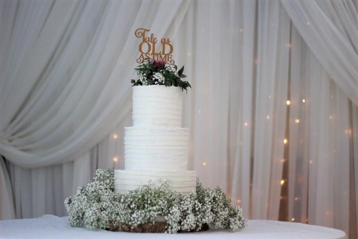 Textured Buttercream cake Naked Cake Semi Naked Cake